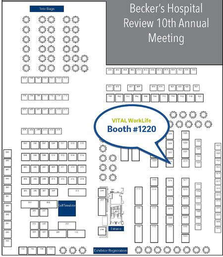 Becker Hyatt Exhibit Hall Booth #1220-1