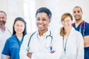 Diverse Healthcare Team Image