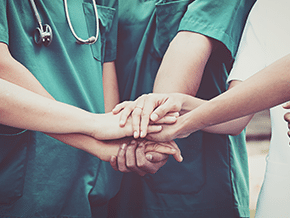 Teamwork in a hospital m&a