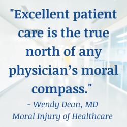 Patient care true north-Wendy Dean quote