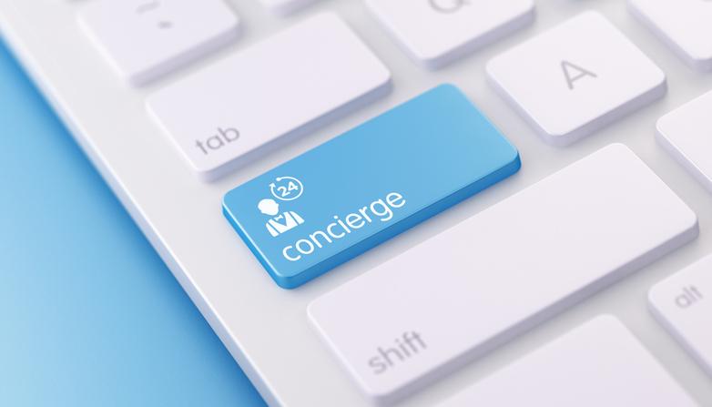 Concierge-on-keyboard