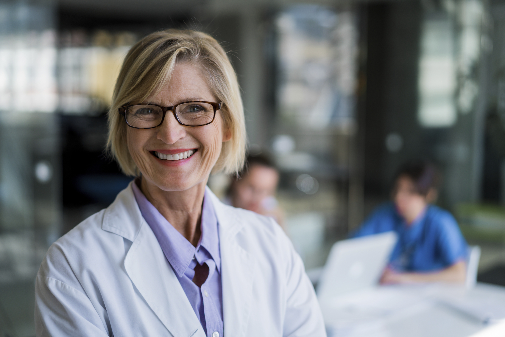 Female Physician Smiling_Age 50