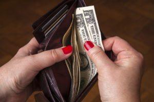 Financial Empty Wallet