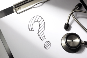 Should I Consider Treating a Loved One? Question mark Stethoscope.